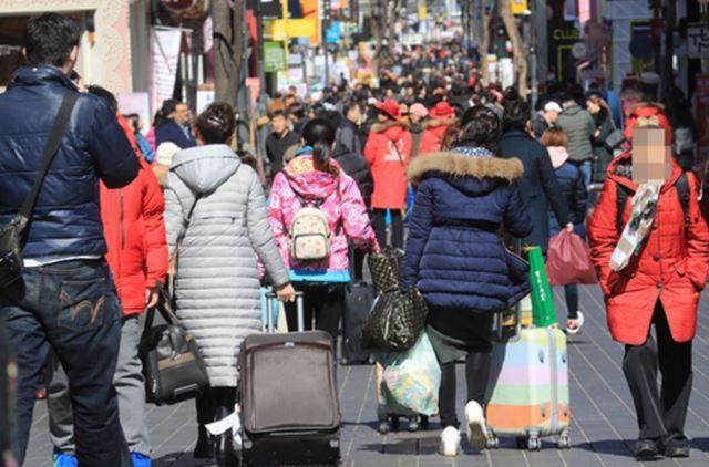 中国のサード報復で中国人観光客が急減