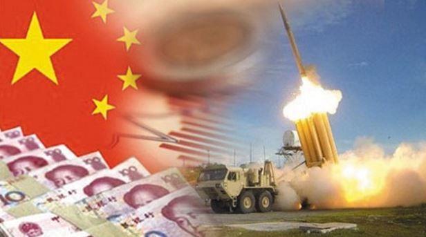 中国によるサード報復
