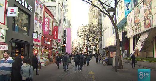 韓国の主要観光地がガラガラに