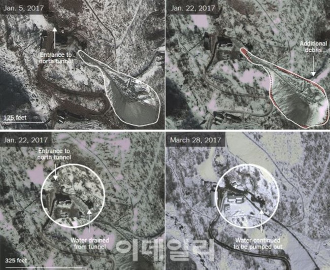 北朝鮮の核実験場