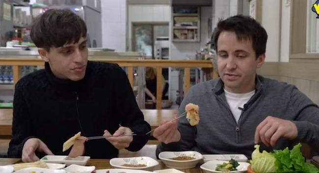 韓国のブリを使ったスープ