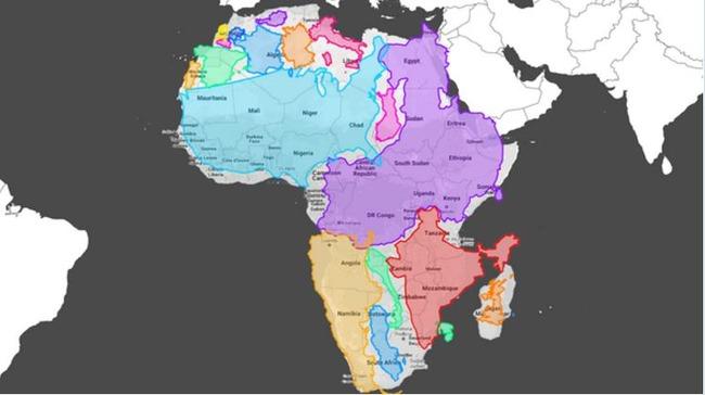 アフリカの本当の大きさ