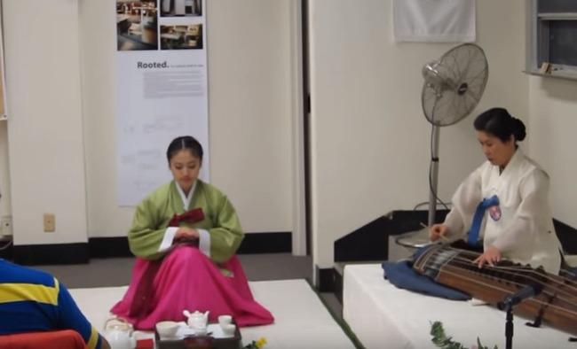 韓国の茶道