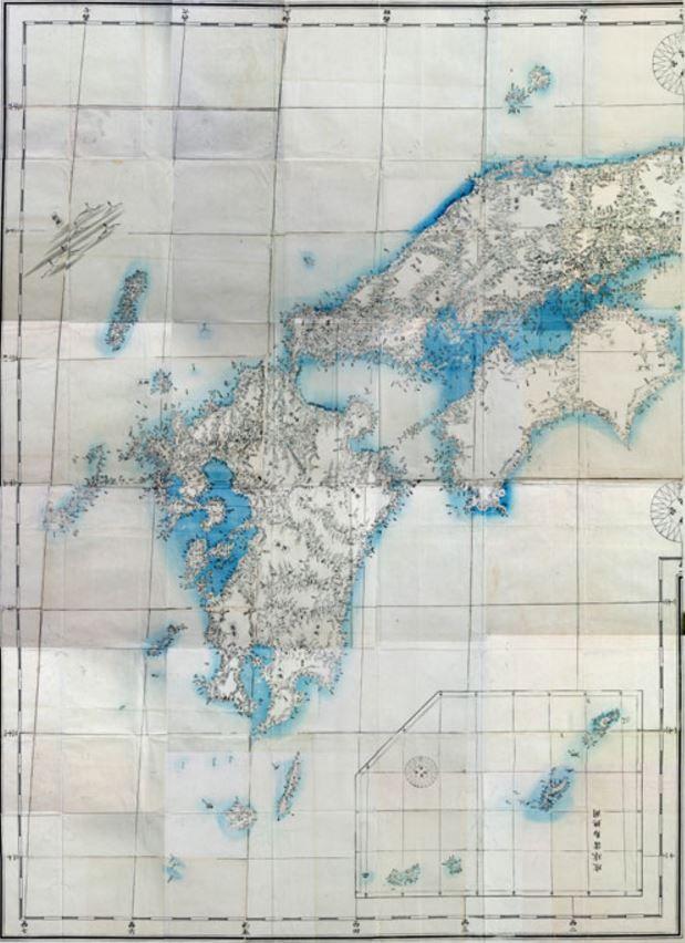 官版実測日本地図