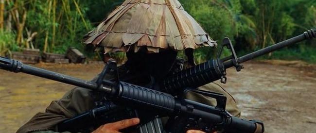 M16を持った兵士