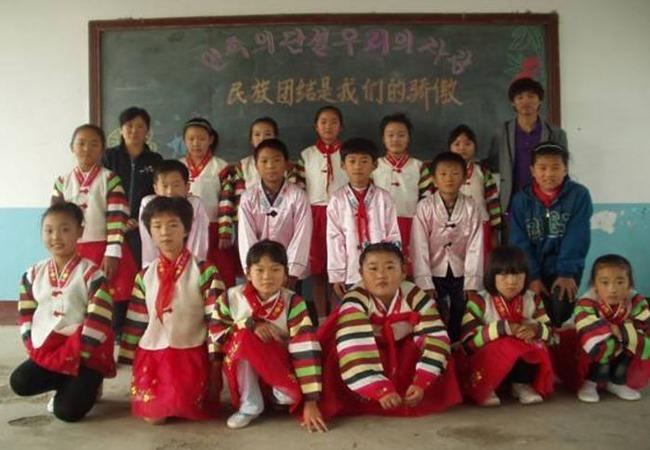 朝鮮族の子供達