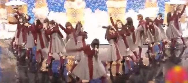 欅坂46のの腕をグルグル回すダンス