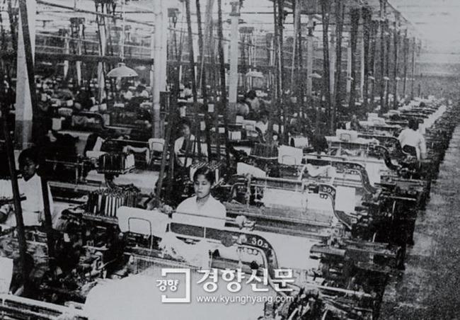 日系紡織工場