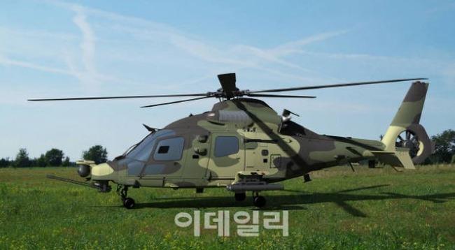 韓国の国産攻撃型小型ヘリ