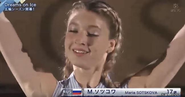 マリア・ソツコワ選手