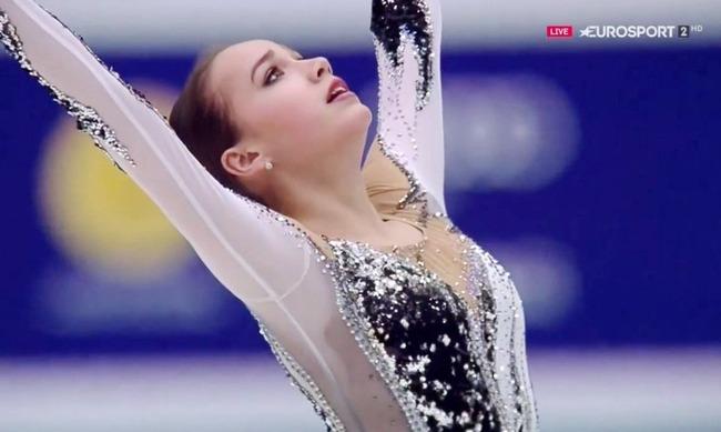 アリーナ・ザギトワ選手