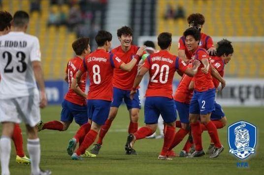 U23サッカー韓国代表チーム