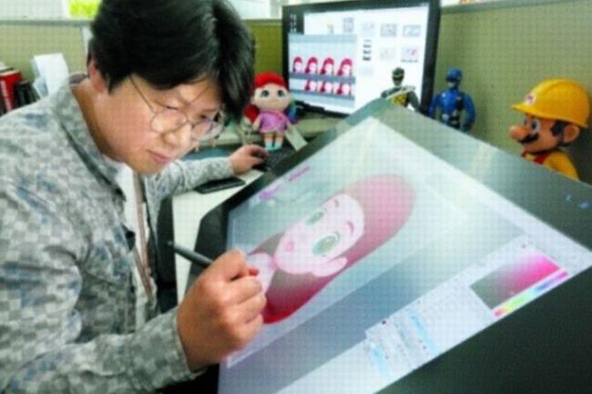 韓国のアニメ製作所