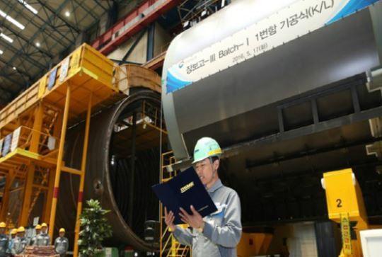 潜水艦張保皐(チャン・ボゴ)ⅢにサムスンSDIのリチウムイオン電池を採用