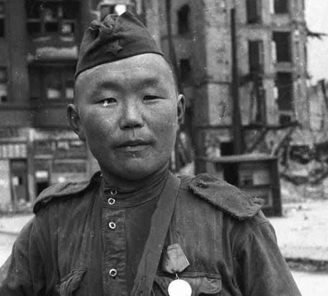 東洋系ソ連軍