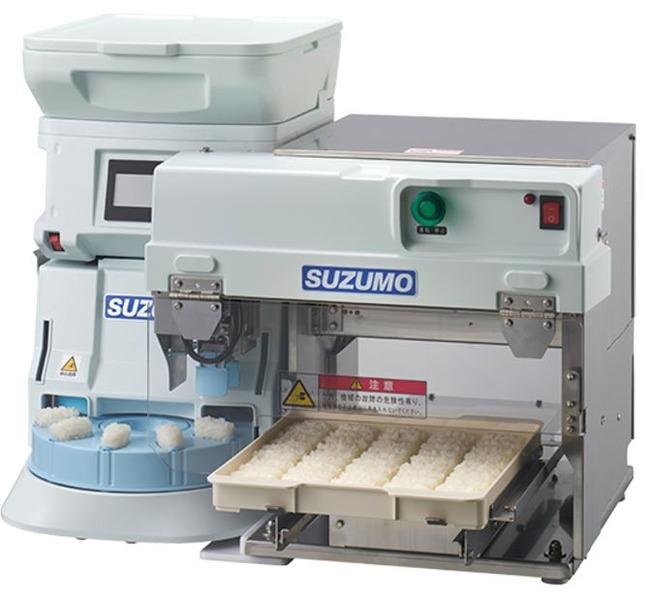寿司を作る機械