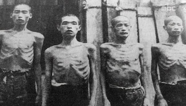日本に強制連行された朝鮮人労働者