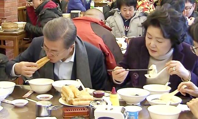 韓国人「これは国辱だ‥」中国訪問中のムン・ジェイン大統領が10食の内8食を「一人飯」中国指導部と食事が出来ず 韓国の反応