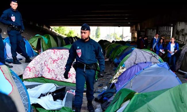 フランスの難民