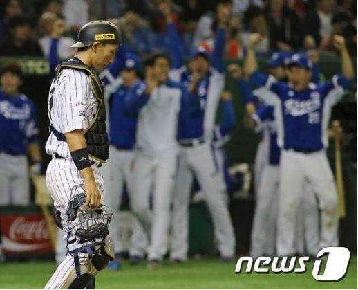 WBC日本代表が韓国に敗北