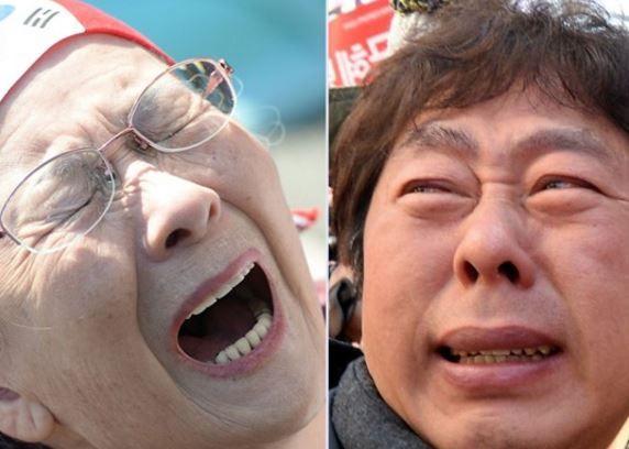 韓国で放火を試みた保守団体会員が警察に逮捕
