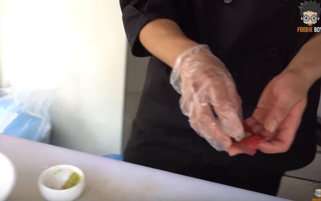韓国の牛肉寿司