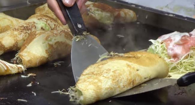 韓国のお好み焼き