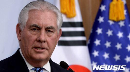 レックス・ティラーソン米国務長官を韓国側が夕食に招待せず