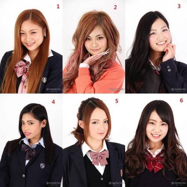 日本の美少女コンテスト出場者