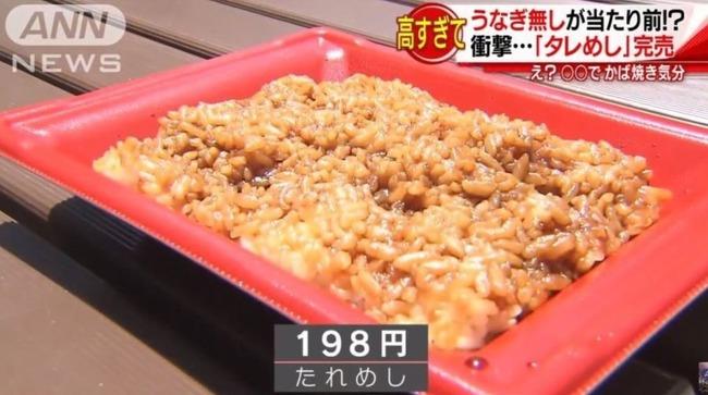 海外「日本のウナギは土の様に生臭い味がした‥」日本でついに「ウナギ無し」のタレ飯が人気に! 海外の反応