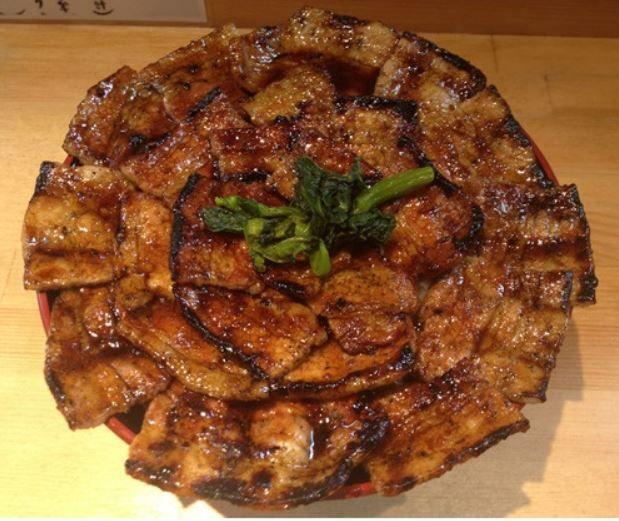 日本の豚丼