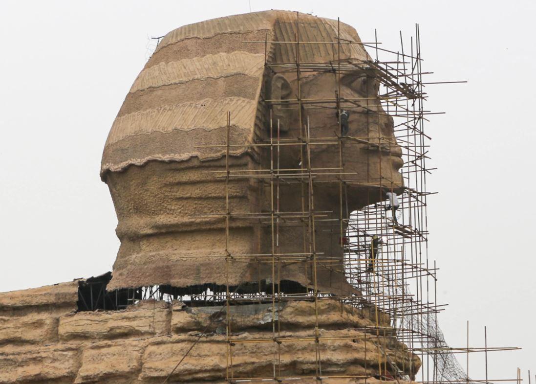 世界の憂鬱  海外・韓国の反応外国人「エッフェル塔に似て居る東京タワーは?ラスベガスの偽スフィンクスは?」中国の偽スフィンクスにエジプト政府が抗議!撤去を要求」 海外の反応コメントコメントする