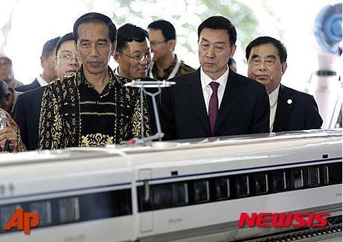 インドネシア高速鉄道事業