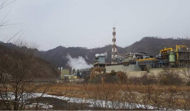 韓国の亜鉛精錬所