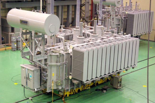 現代重工業の変圧器