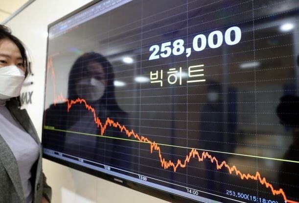 韓国人「BTS株が5日連続で急落!」株価が大幅下落する中、国民請願文まで登場! 韓国の反応