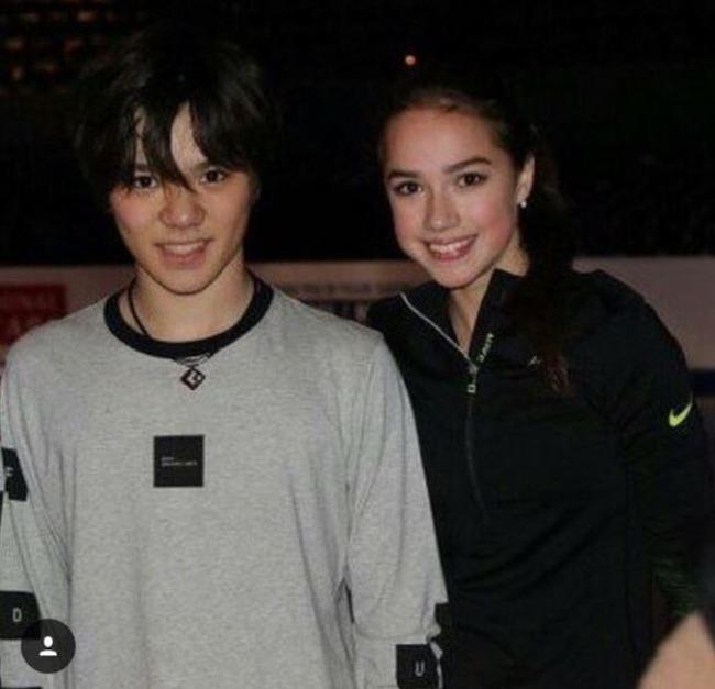 ザギトワ選手と宇野昌磨選手