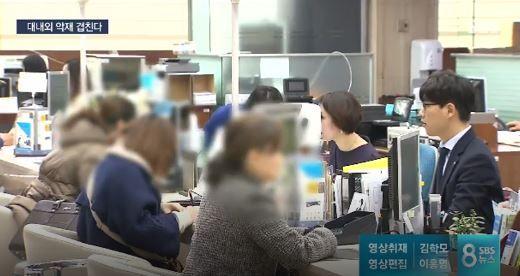 韓国経済金利引き上げで家計負債が上昇