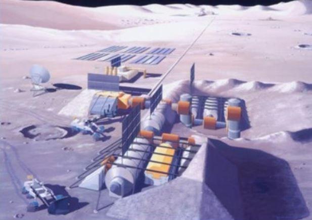 海外「日本が月に進出?」日本の建設業界が、月の表面に宇宙基地建設の研究を推進!」