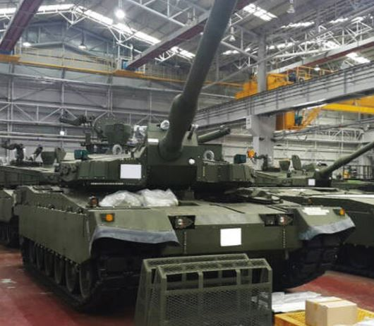 k2黒豹戦車