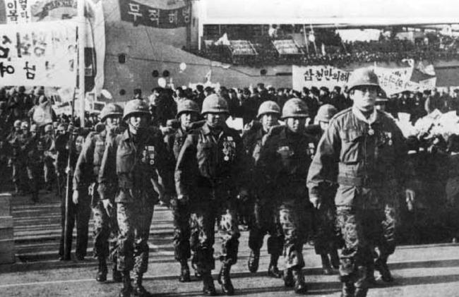 ベトナム戦争時の韓国軍