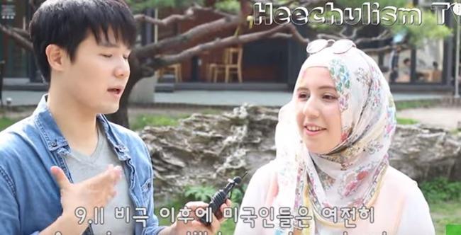 韓国のイスラム教徒の美女