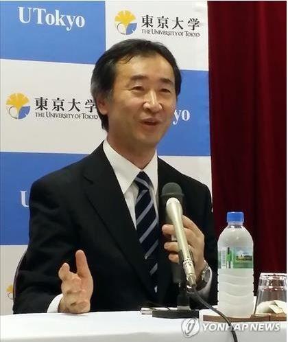 ノーベル物理学賞受賞者、梶田隆章