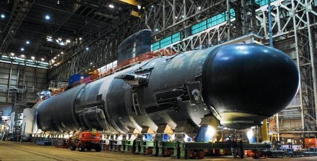 3000t級潜水艦張保皐(チャン・ボゴ)Ⅲ