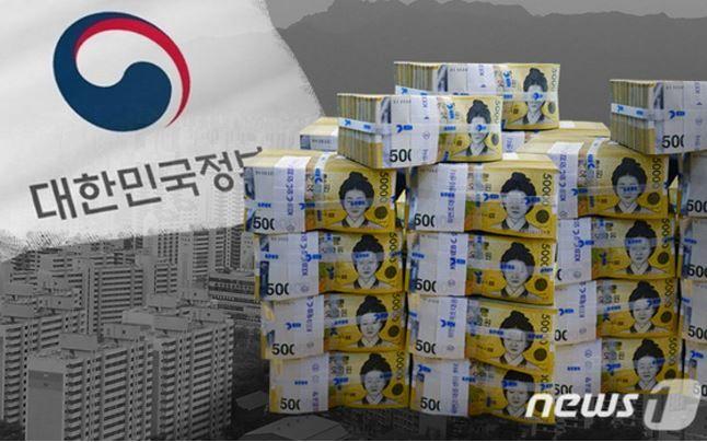 韓国の国家債務が史上最悪