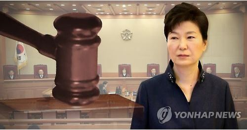 朴槿恵大統領が、憲政史上初の罷免大統領に成る