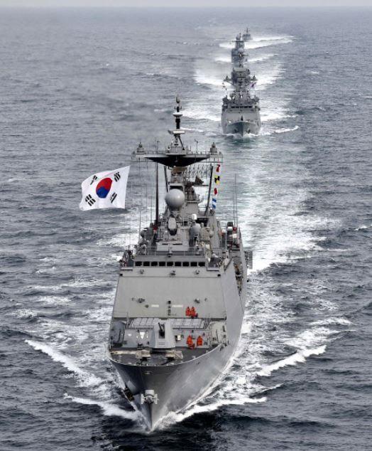 韓国の独島防衛訓練