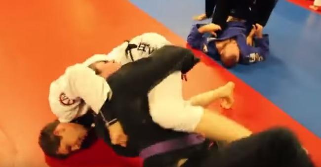 柔道の寝技