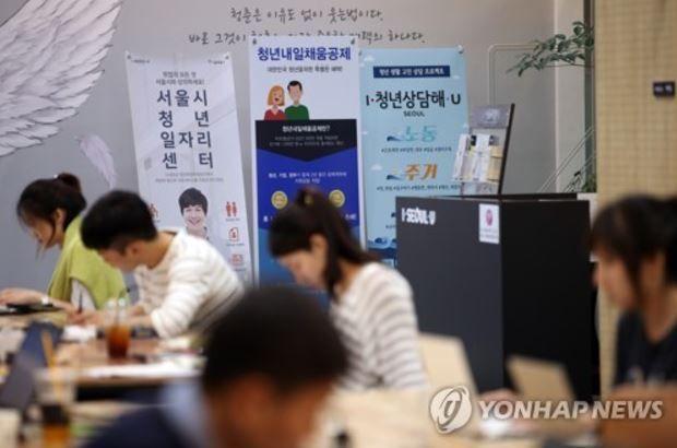 韓国の青年層の失業率の上昇
