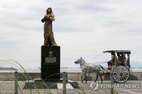 フィリピンの慰安婦像